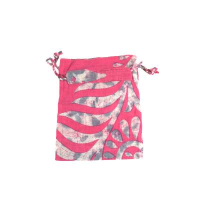 Small Pink Sari Gift Bag