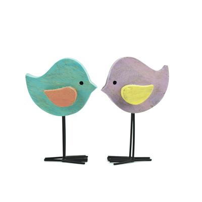 Wooden Warbler Friends - Set of 2