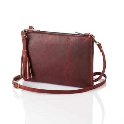 Burgundy Crossbody Bag