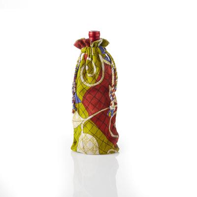 Sari Wine Bags - Set of 3