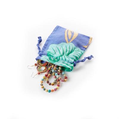 Sari Jewelry Pouch - Set of 3