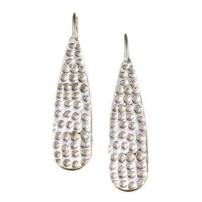 Sarala Silver Earrings