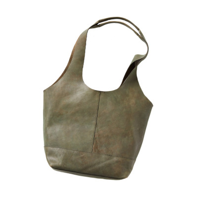 Shilani Leather Slouch Bag
