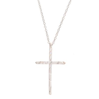 Chandi Cross Necklace