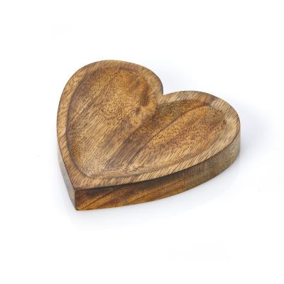 Carved Heart Trinket Dish