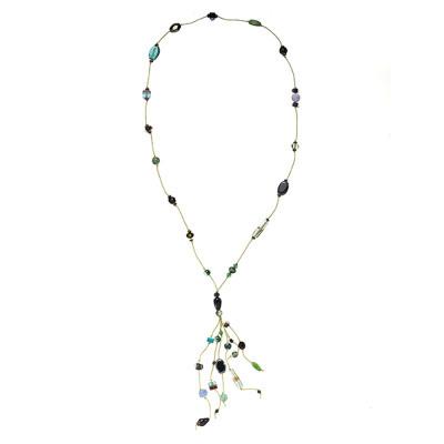 Makadi Glass Bead Necklace