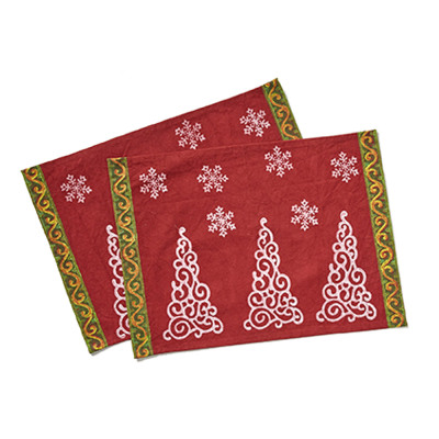 Saji Holiday Placemats - Set of 2