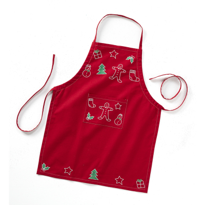 Cookie Cutter Embroidered Apron