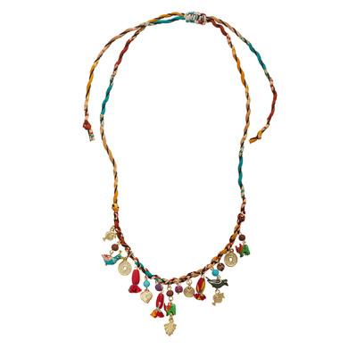 Nirala Sari Charms Necklace