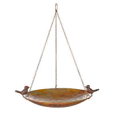 Eco-Iron Hanging Birdbath