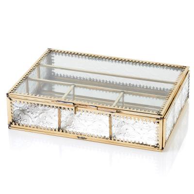Jadani Glass Jewelry Box
