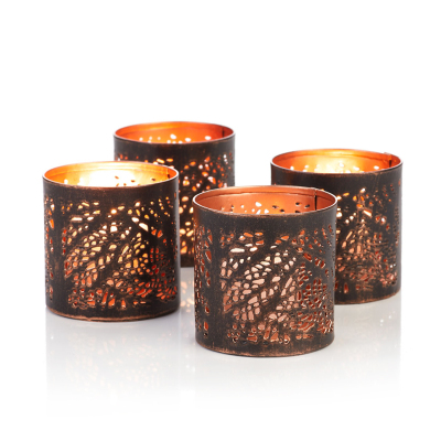 River Birch Tea Lights - Set of 4