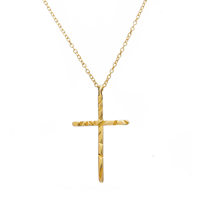 Sona Cross Necklace