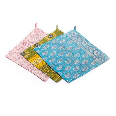Kantha Dishcloths - Set of 3