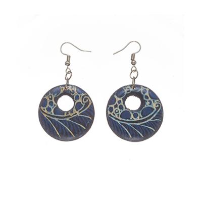 Misha Batik Earrings