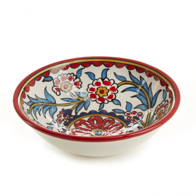 Red West Bank Serving Bowl
