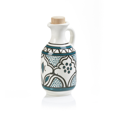 Teal Jasmine Oil Decanter