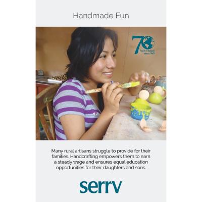 Handmade Fun Table Sign