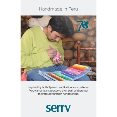 Handmade in Peru Table Sign