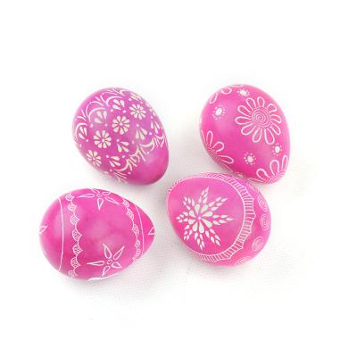 Pink Soapstone Egg Set