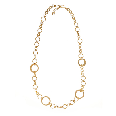 Tulia Brass Necklace