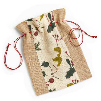 Small Holiday Gift Bag