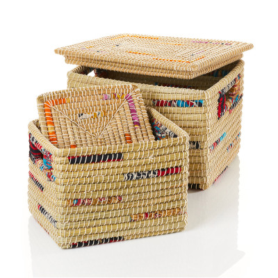 Sari Kaisa Grass Baskets - Set of 2