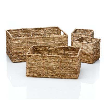 Badam Nesting Storage Baskets - Set of 4