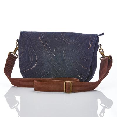 Tanay Recycled Denim Crossbody Bag