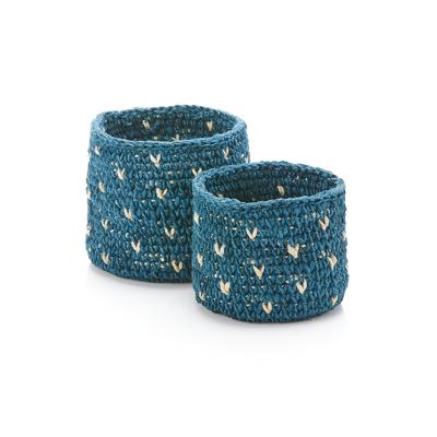 Daya Crocheted Basket Set