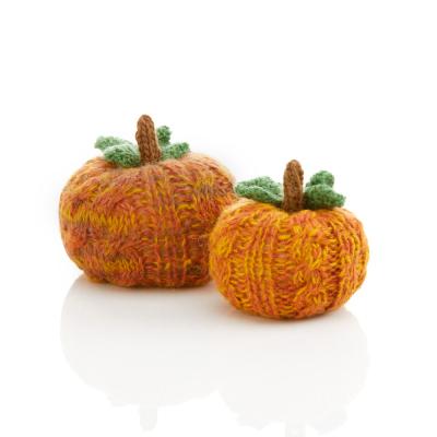 Remnant Knit Pumpkin Patch