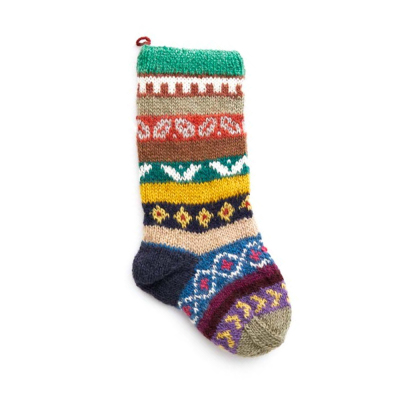 Nepali Remnant Patterned Stockings