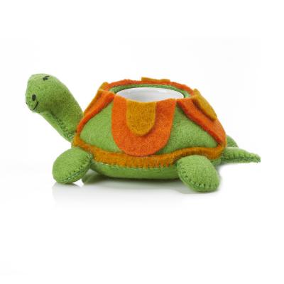 Tardy Tortoise Felt Planter