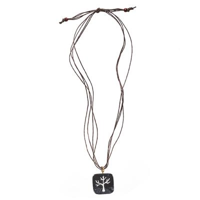 Tree of Life Onyx Pendant
