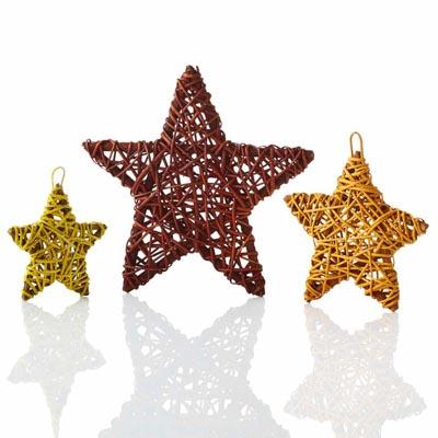 Vibrant Vine-Wrapped Stars