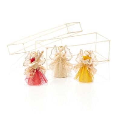 Trio of Angels Ornament Set