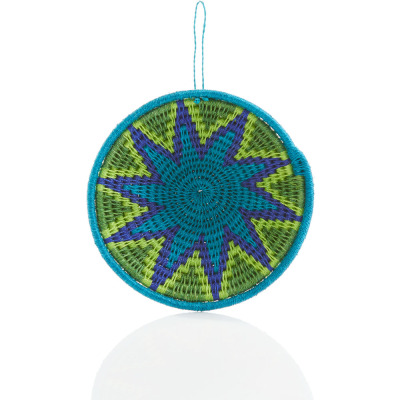 Mozani Star Sisal Basket Ornament