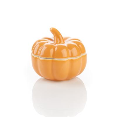 Ceramic Pumpkin Keepsake Box