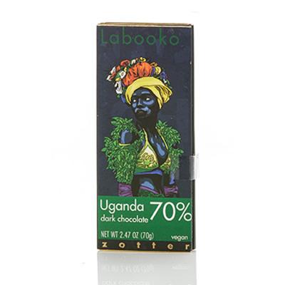 Uganda 70% Vegan Dark Chocolate Bar