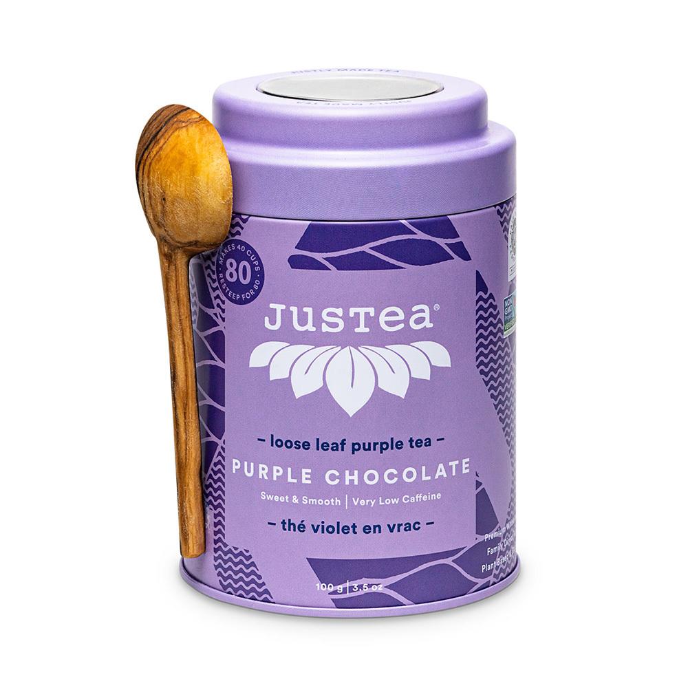 Purple Chocolate Loose Leaf Tea