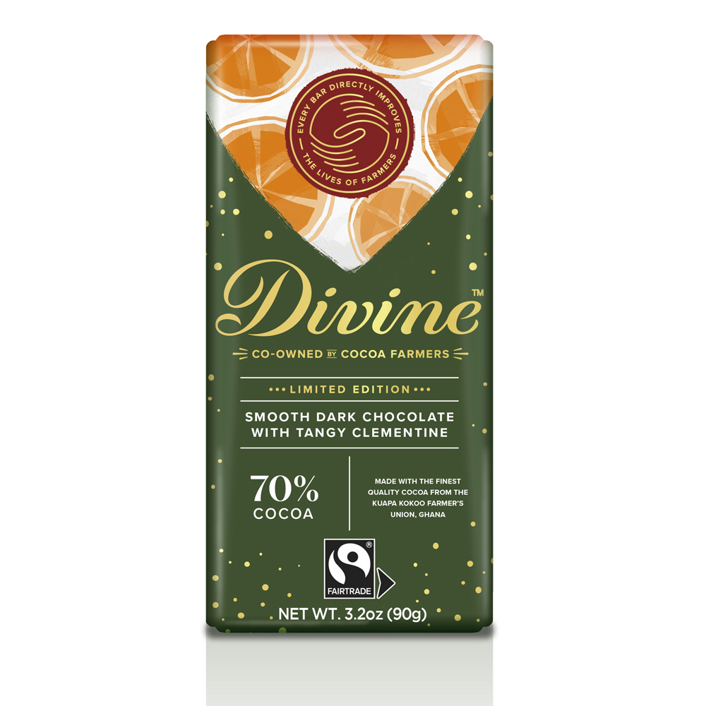 Dark Chocolate with Clementine Large Bar Case
