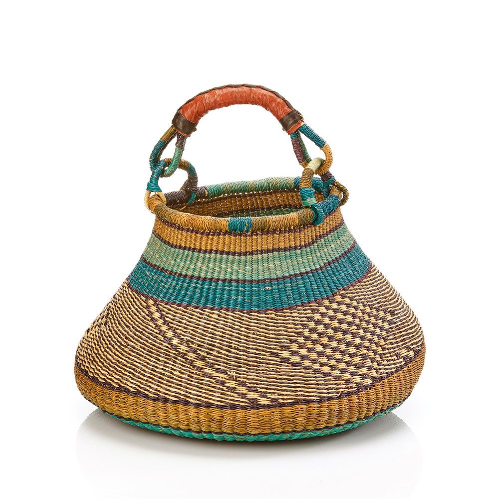 Round Grasslands Basket