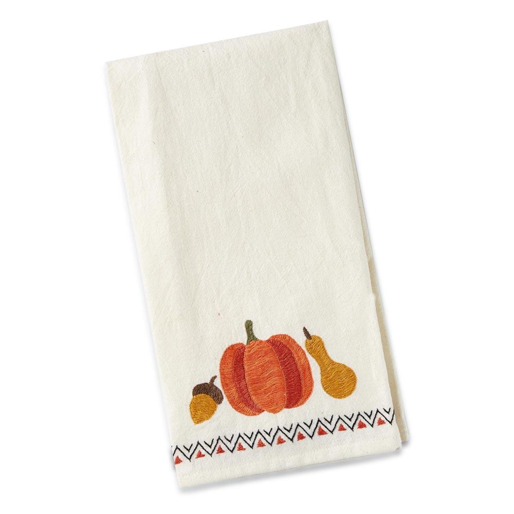 Pumpkin Gourd Tea Towel