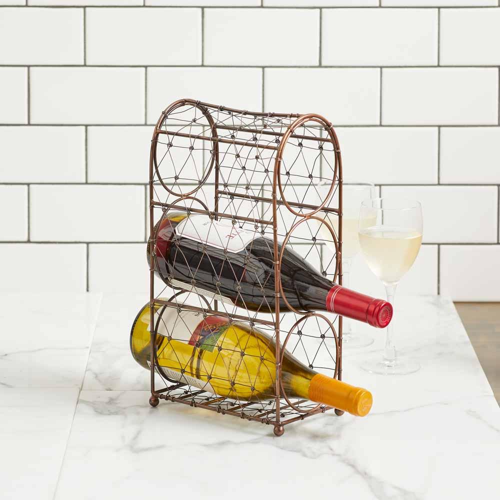 Wire Wine Rack
