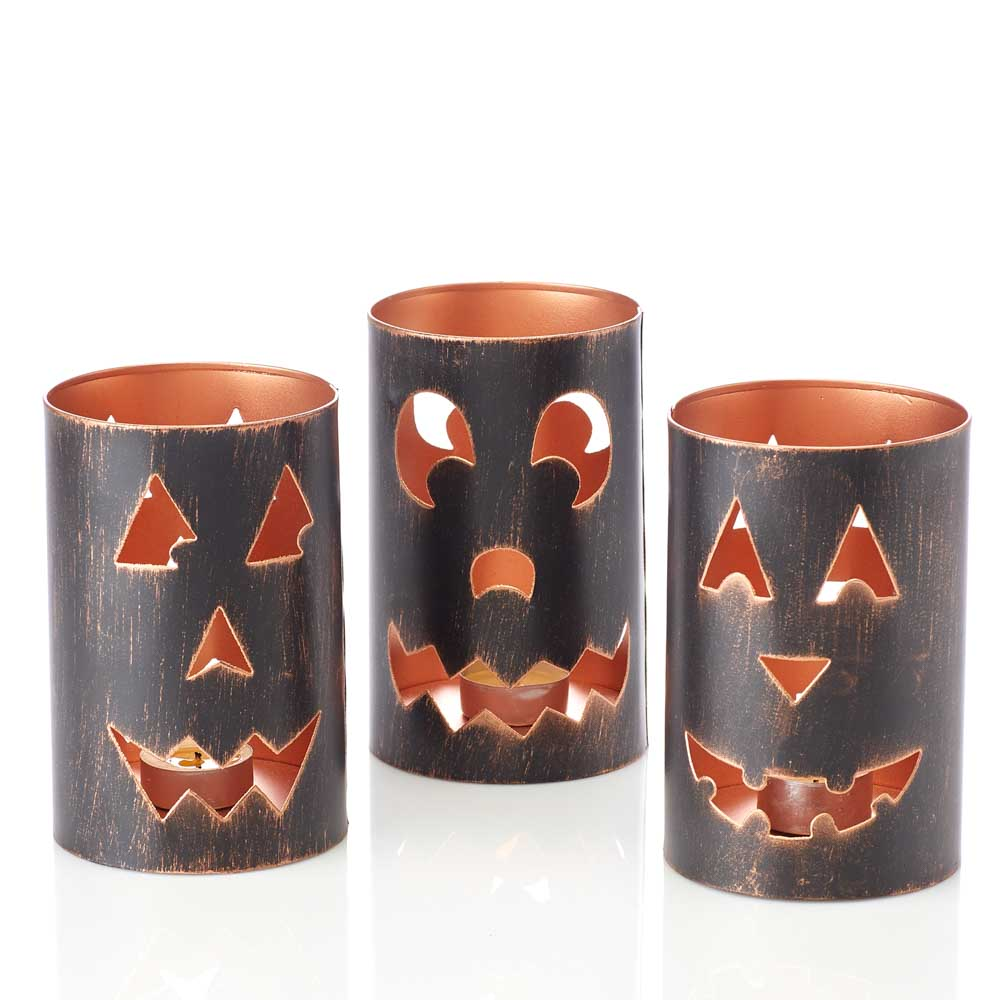 Jack-o-Lanterns - Set of 3