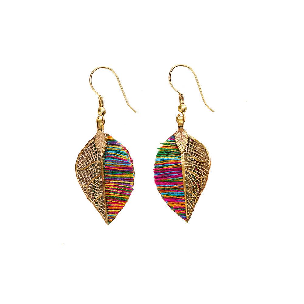Sunara Leaf Earrings