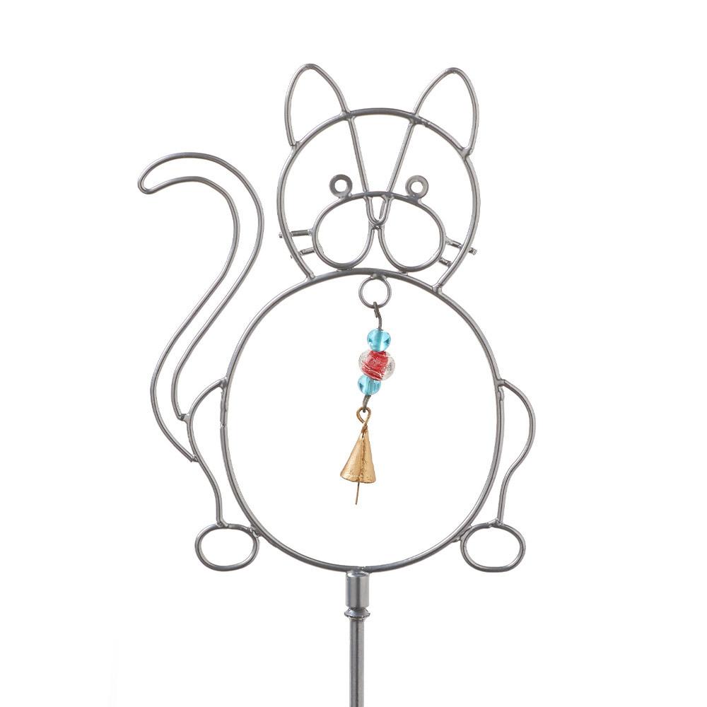 Frisky Kitty Bell Stake
