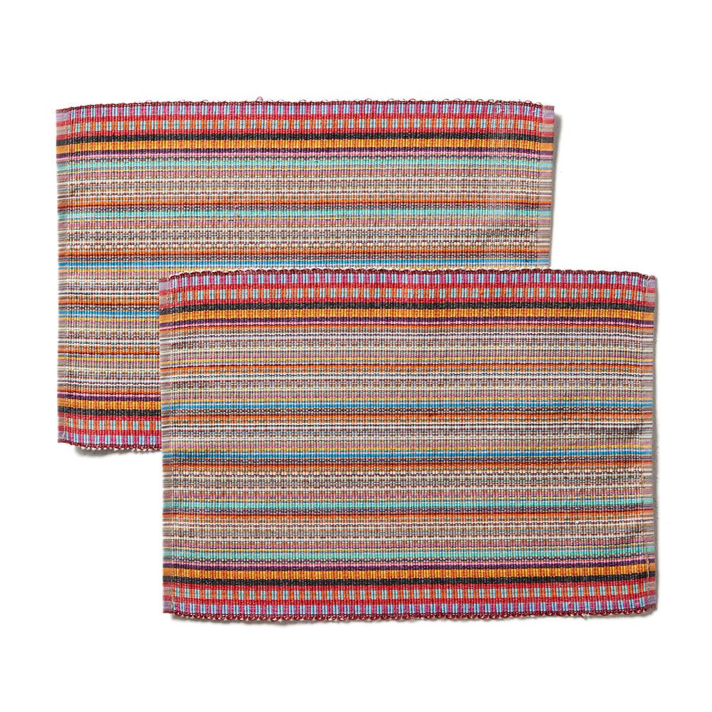 Jivanti Stripe Placemats - Set of 2
