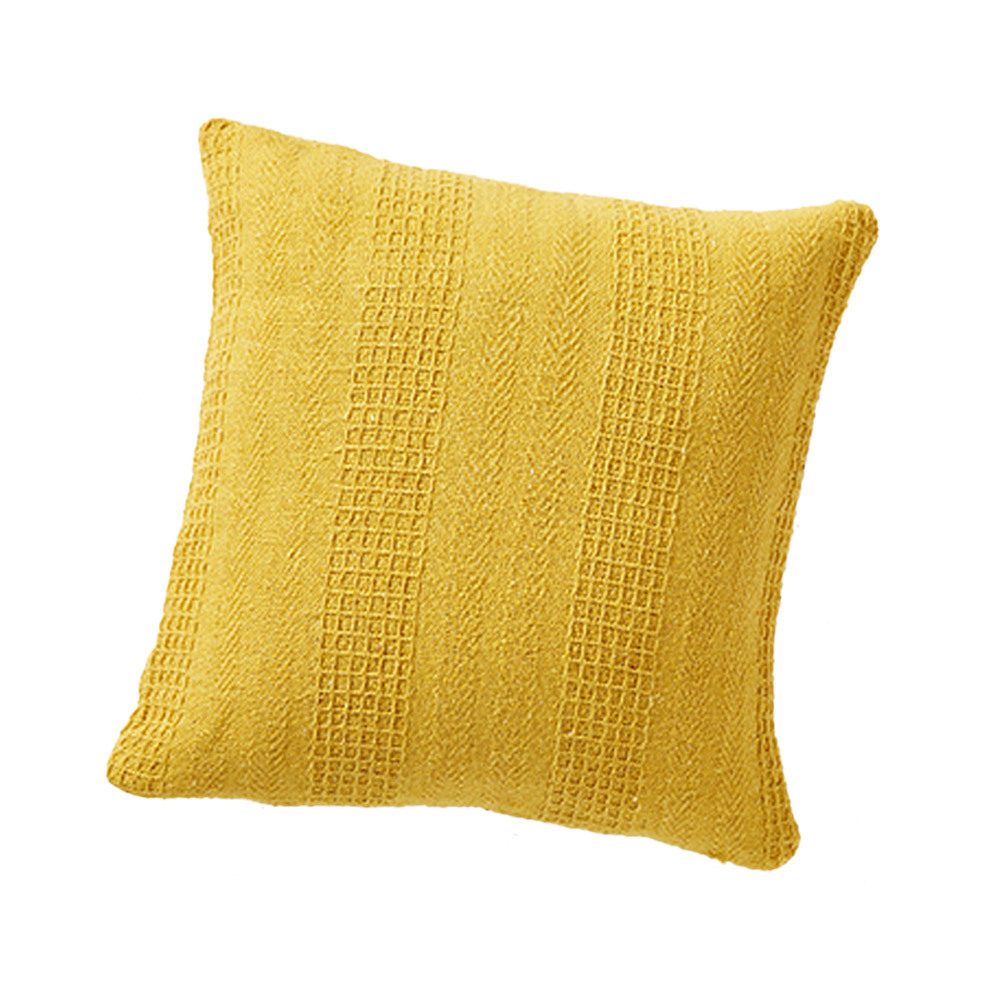 Rethread Pillow - Mustard