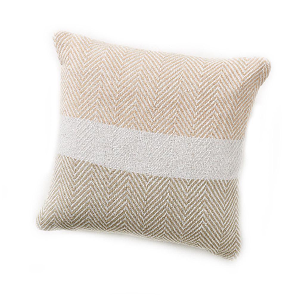 Rethread Pillow - Natural Stripe